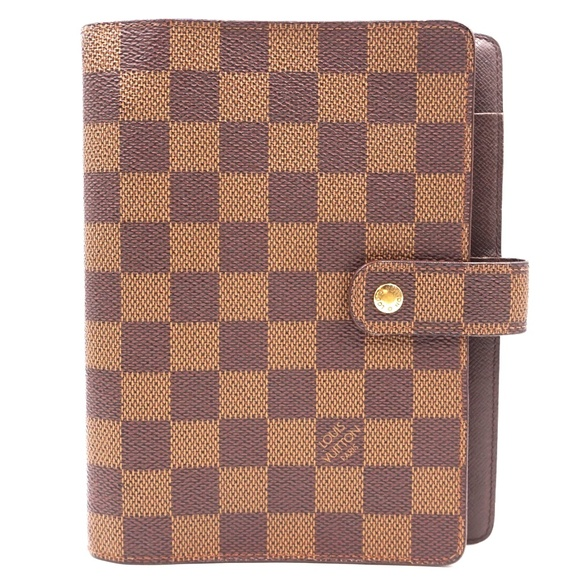Louis Vuitton Handbags - Damier Ebene 6 Ring  Book Holder Card Wallet